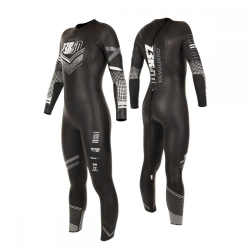 Combinaison Triathlon Femme ZEROD VANGUARD WOMAN - BLACK/WHITE - New 2019