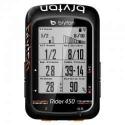 Compteur GPS BRYTON Rider 450 E - Sans capteur