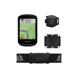 GARMIN EDGE 830 BUNDLE PERFORMANCE PACK - Compteur GPS Cycle Avec capteurs Cadence, Vitesse et Ceinture Cardio