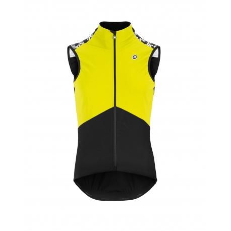 Veste coupe vent sans manche Printemps - Automne ASSOS MILLE GT Spring Fall Airblock Vest - Fluo Yellow