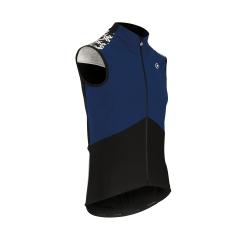 Veste coupe vent sans manche Printemps - Automne ASSOS MILLE GT Spring Fall Airblock Vest - Caleum Blue