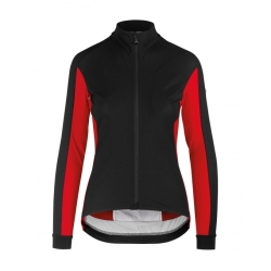 Veste coupe-vent Femme ASSOS HABU JACKET LAALALAI - national Red