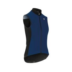 Veste coupe-vent sans manches Femme ASSOS UMA GT Spring Fall Airblock Vest - caleum Blue