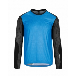 ASSOS TRAIL LS Jersey - corfu Blue - Maillot VTT Homme Manches Longues