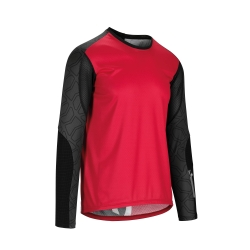 ASSOS TRAIL LS Jersey - rodo Red - Maillot VTT Homme Manches Longues