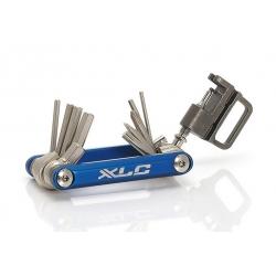 XLC TO-M07 - CLÉ 15 FONCTIONS ALLEN,TORX T25 ET DERIVE CHAINE