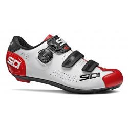 Sidi ALBA 2 White Black Red - Paire de Chaussures velo route