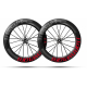 Paire roues Lightweight FERNWEG EVO 85 DISC Red label Tubeless - NEW 2020