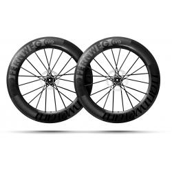 Paire roues Lightweight FERNWEG EVO 85 DISC SCHWARZ Edition Tubeless - NEW 2020