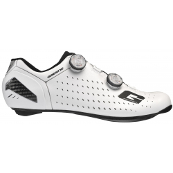 GAERNE G Stilo Carbon White 2020 - Chaussures velo route Blanc