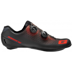 GAERNE G Chrono Carbon Black Red 2020 - Paire de Chaussures velo route Noir Rouge