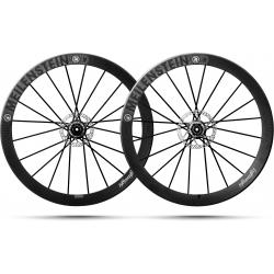 Paire roues Lightweight MEILENSTEIN T DISC SCHWARZ EDITION