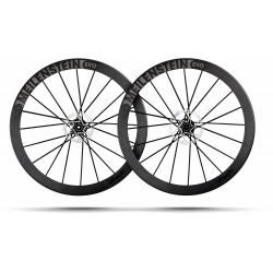 MEILENSTEIN EVO DISC SCHWARZ EDITION Tubeless - Paire de Roues Lighwteight freinage à disques - NEW 2020