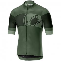 Maillot CASTELLI Ruota Jersey FZ Men's Vert