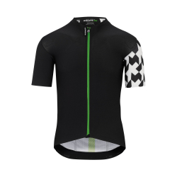Maillot manches courtes ASSOS EQUIPE RS Aero SS Jersey Data Green - NEW 2020