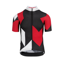 Maillot manches courtes Homme ASSOS FASTLANE Rock SS Jersey National Red - NEW 2020