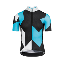 Maillot manches courtes Homme ASSOS FASTLANE Rock SS Jersey Dam Blue - NEW 2020