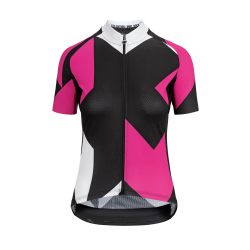 Maillot manches courtes Femme ASSOS FASTLANE Women's Rock SS Jersey Pong Pink - NEW 2020