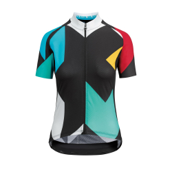 Maillot manches courtes Femme ASSOS FASTLANE Women's Rock SS Jersey Booster - NEW 2020