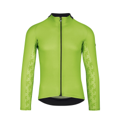 Maillot manches longues Homme été ASSOS MILLE GT Summer LS JERSEY - Visibility Green - NEW 2020