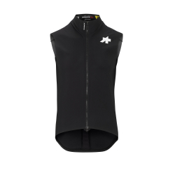 Veste coupe-vent sans manches ASSOS EQUIPE RS Spring Fall Aero Gilet Black Series - NEW 2020