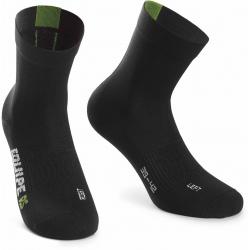 Socquettes ASSOS RS Socks Data Green - NEW 2020