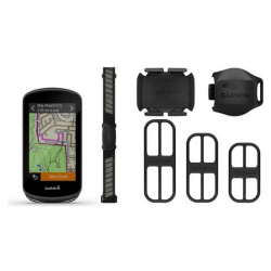 Compteur GPS GARMIN Edge 1030 PLUS Bundle / Pack Performance ( ceinture Cardio HRM + Cadence + Vitesse)