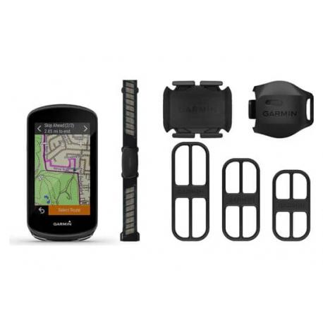 Compteur GPS GARMIN Edge 1030 PLUS Bundle / Pack Performance ( ceinture Cardio HRM + Cadence + Vitesse)