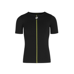 Sous vetement manches courtes ASSOS Spring Fall SS Skin Layer Black Series