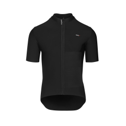 Sous vetement Hiver manches courtes ASSOS EQUIPE RS Winter SS Mid Layer ThermoBooster Black Series - NEW 2020