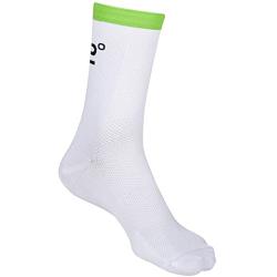 Socquettes POC Cannondale Drapac Sock - Hydrogen White - Cannondale Green