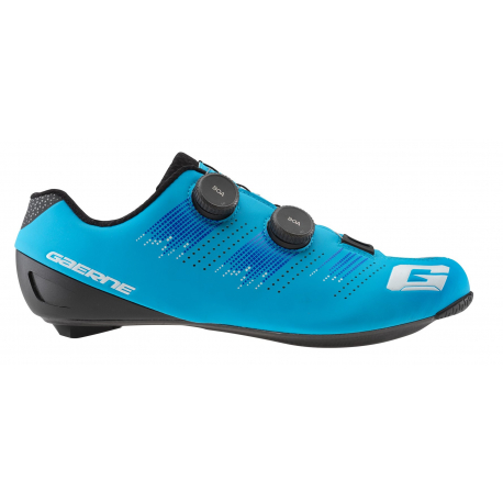 GAERNE G Chrono Carbon Matt Light Blue 2021 - Paire de Chaussures velo route Bleu
