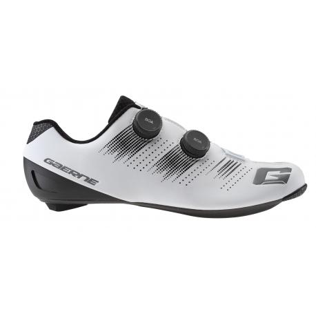 GAERNE G Chrono Carbon Matt White 2021 - Paire de Chaussures velo route Blanche