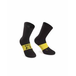 Chaussettes ASSOS Spring Fall Socks black Series