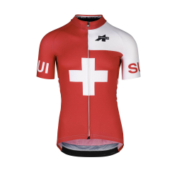 Maillot manches courtes ASSOS FASTLANE Olympics SS Jersey Suisse