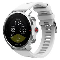 POLAR GRIT X BLANC - ARGENT - Montre GPS Running