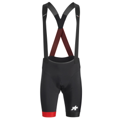 ASSOS Equipe RS Bib Shorts S9 - National Red - Cuissard Cycliste Homme