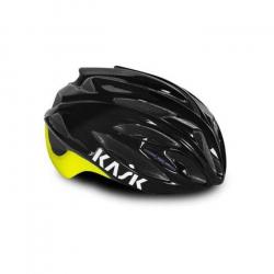 Kask Rapido Black Yellow- Casque Route